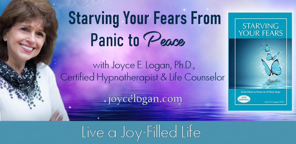 Joyce Logan host of Starving Your Fears – From Panic to Peace