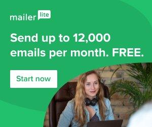 Send free emails using Mailerlite