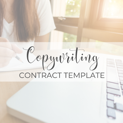 Copywriting Contract Template