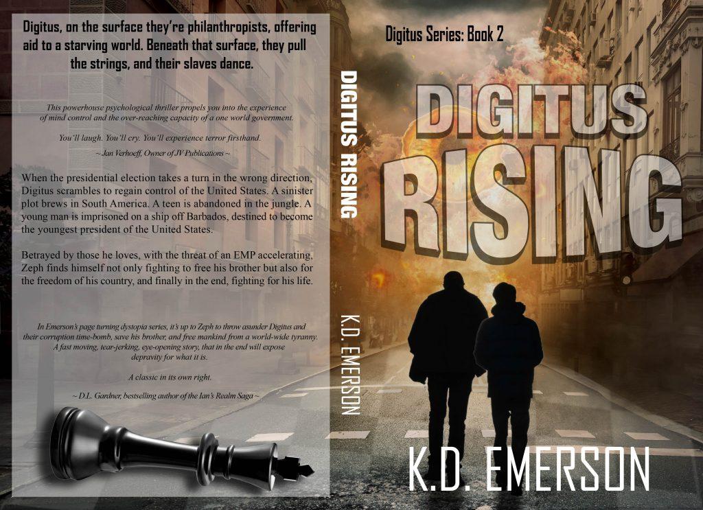 Digitus Rising by Kim Mutch Emerson