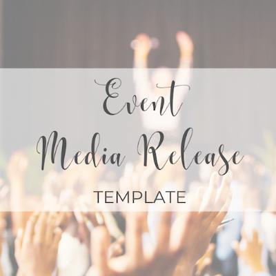 Event Media Release